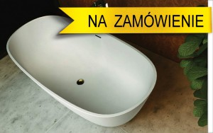 Wanna wolnostojaca konlgomerat Corian model Amati BL 8030